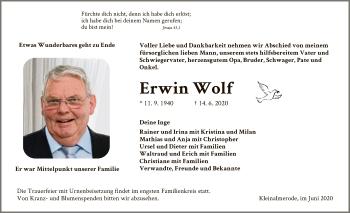 Erwin Wolf
