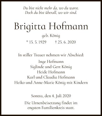 Brigitta Hofmann